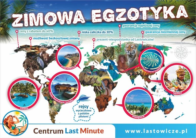 plakat Zimowa egzotyka 3 poziom